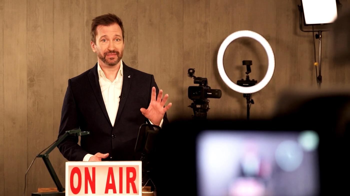 René Borbonus präsentiert sein neues Video-Training